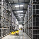 Forklift, Warehouse, Machine, Worker, Industry, Pallet